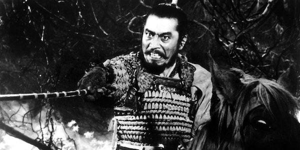 Toshiro Mifune in Akira Kurosawa's  Throne of Blood