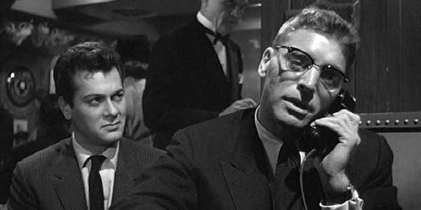 Tony Curtis and Burt Lancaster in Alexander Mackendrick's  Sweet Smell of Success