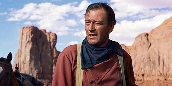 John Wayne in John Ford's  The Searchers