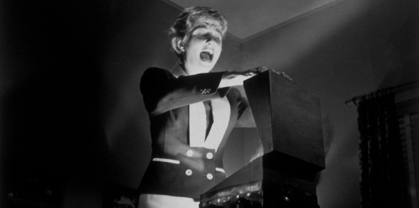Gaby Rodger's in Robert Aldrich's  Kiss Me Deadly