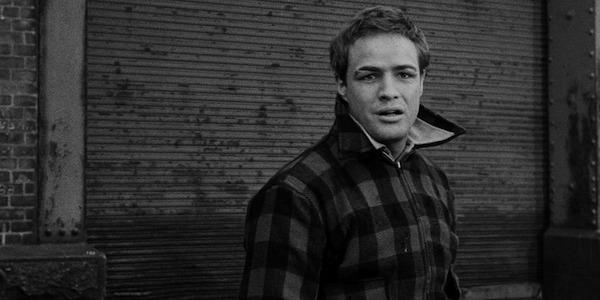 Marlon Brando in Elia Kazan's  On the Waterfront
