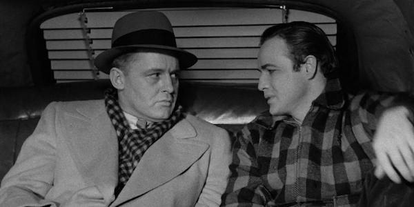 Rod Steiger and Marlon Brando in Elia Kazan's  On the Waterfront