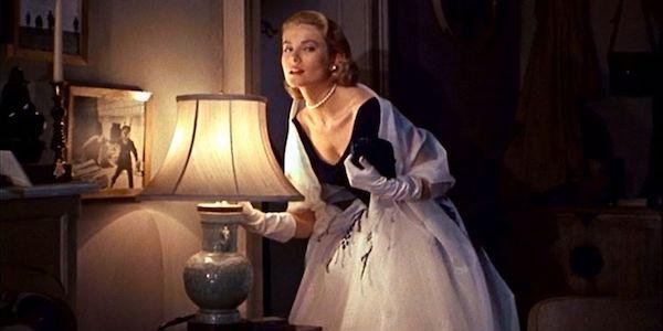 Grace Kelly in Alfred Hitchcock's  Rear Window