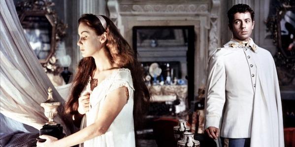 Alido Valli and Farley Granger in Luchino Visconti's  Senso