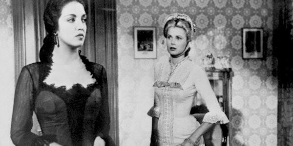 Katy Jurado (left) and Grace Kelly (right) in Fred Zinnemann's  High Noon