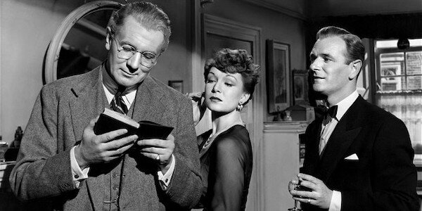 Michael Redgrave, Jean Kent, and Nigel Patrick in Anthony Asquith's  Browning Version