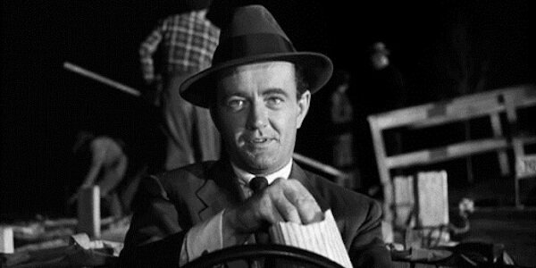 Robert Walker in Alfred Hitchcock's  Strangers on a Train