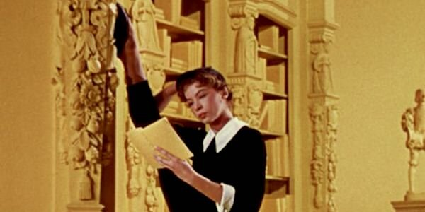 Leslie Caron in Vincente Minnelli's  An American in a Paris