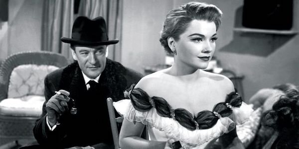 George Saunders and Anne Baxter in Joseph L. Mankiewicz's  All About Eve