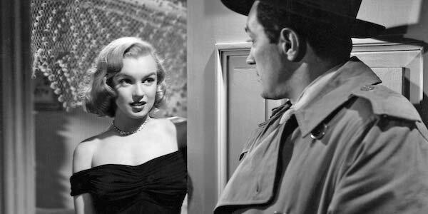 Marilyn Monroe and Sterling Hayden in John Huston's  Asphalt Jungle