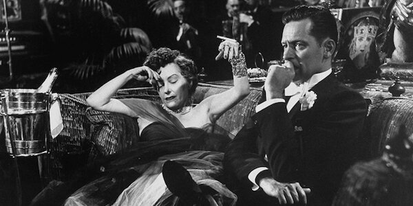 Gloria Swanson and William Holden in Billy Wilder's  Sunset Boulevard
