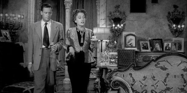 William Holden and Gloria Swanson in Billy Wilder's  Sunset Boulevard