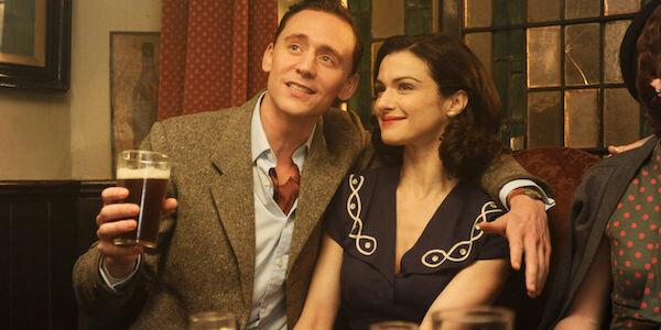 Rachel Weisz and Tom Hiddleston in Terrence Davies'  Deep Blue Sea