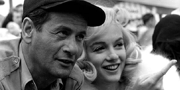Eli Wallach and Marilyn Monroe in John Huston's  The Misfits