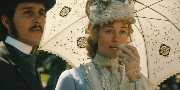 Barry Brown and Cybil Shepard in Peter Bogdanovich's  Daisy Miller