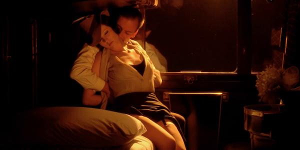 Jean-Louis Trintignant and Stefania Sandrelli in Bernardo Bertolucci's  The Conformist