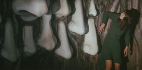 Mako Midori in Yasuzo Masumura's  Blind Beast