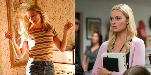 Margot Robbie in Quentin Tarantino's  Once Upon a Time… In Hollywood  and Jay Roach's  Bombshell