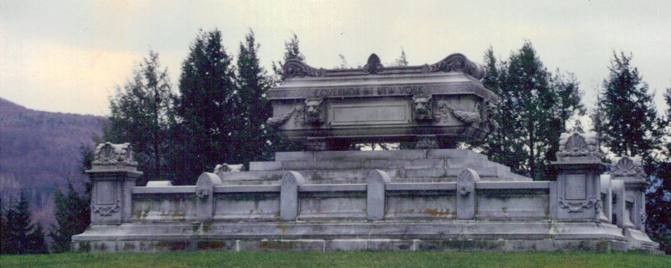 Samuel J. Tilden Monument - Governor of New York  New Lebanon, New York
