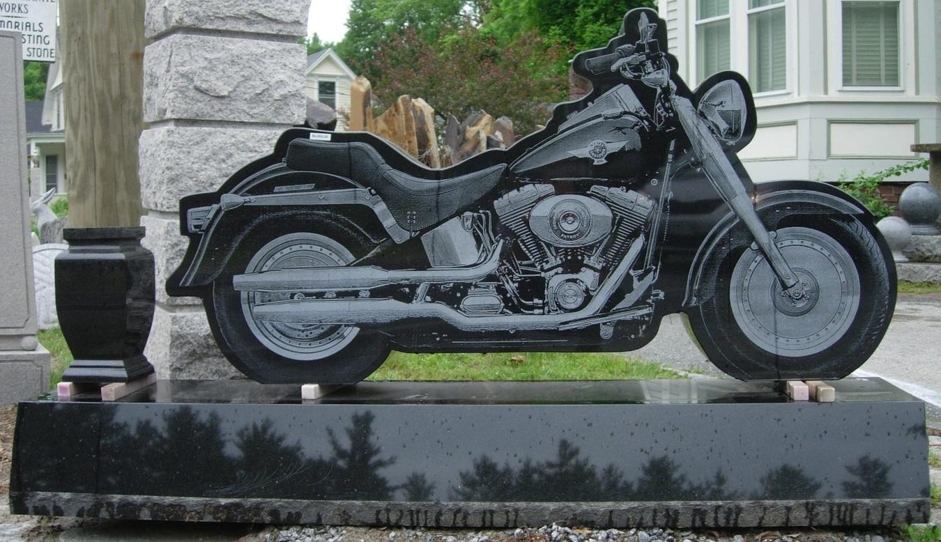 Oriental Black Motorcycle