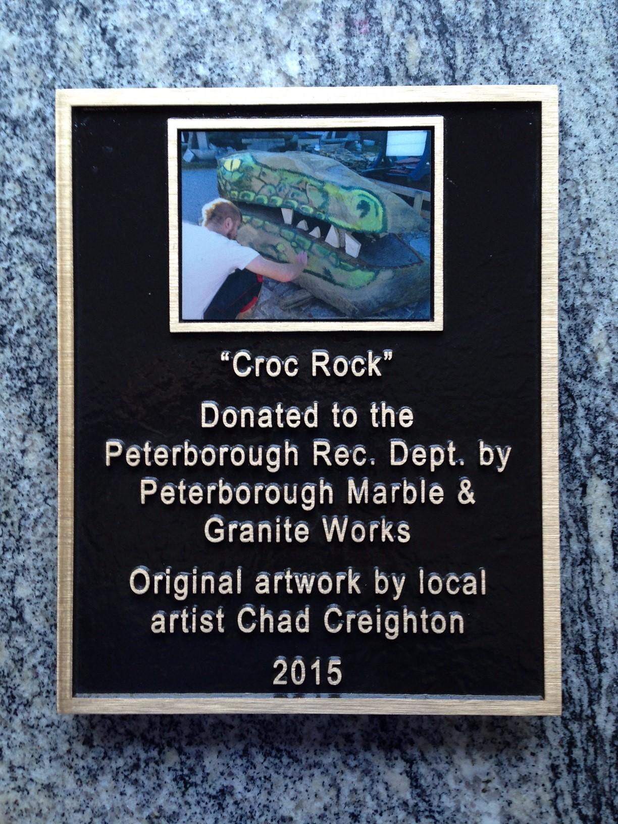 Imagecast photo Plaque