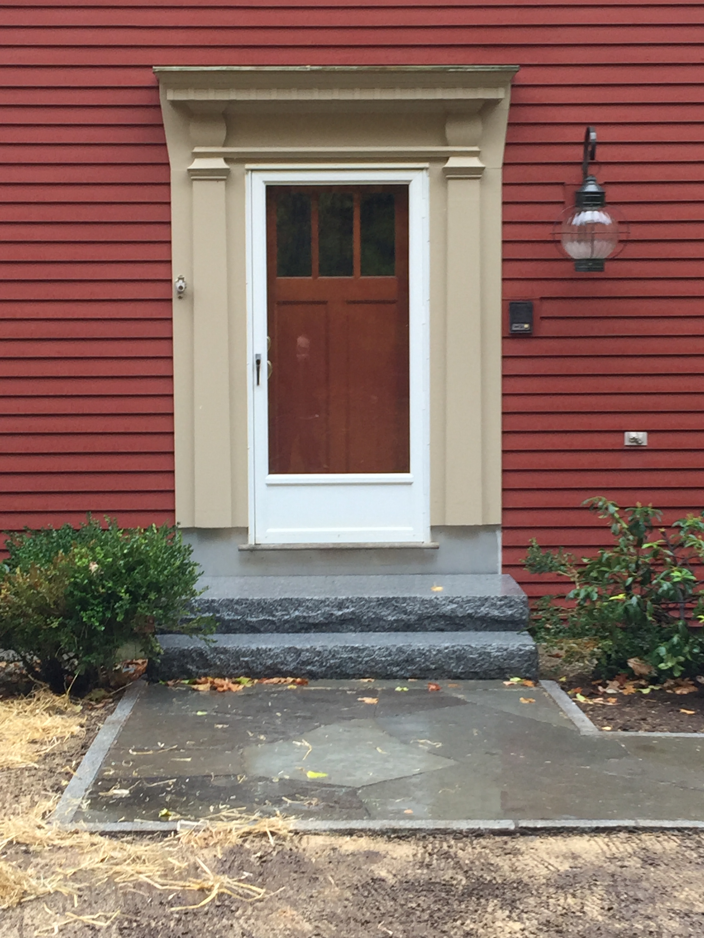 Front Door Granite Steps