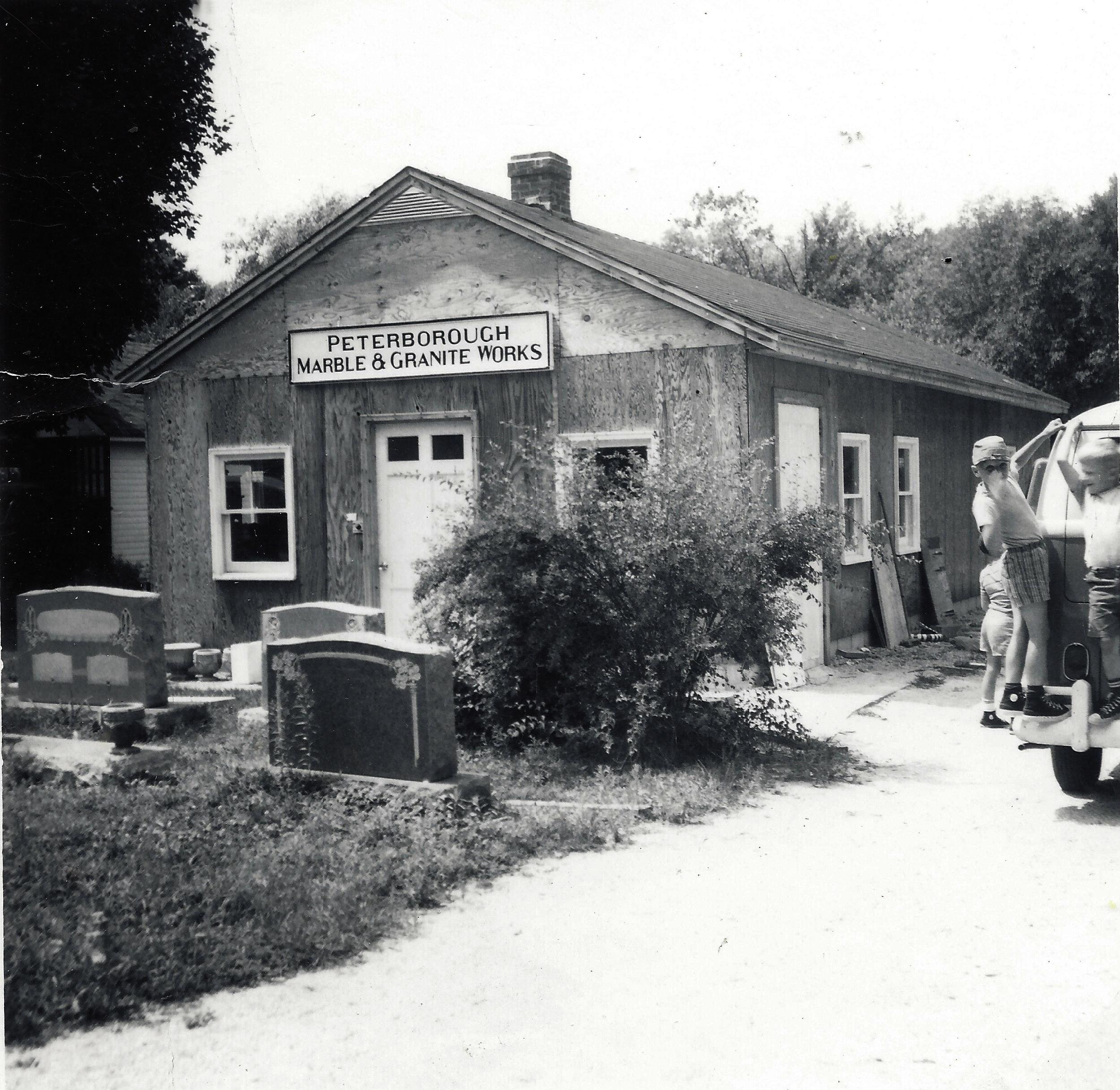 Original 72 Concord St. Shop 1966