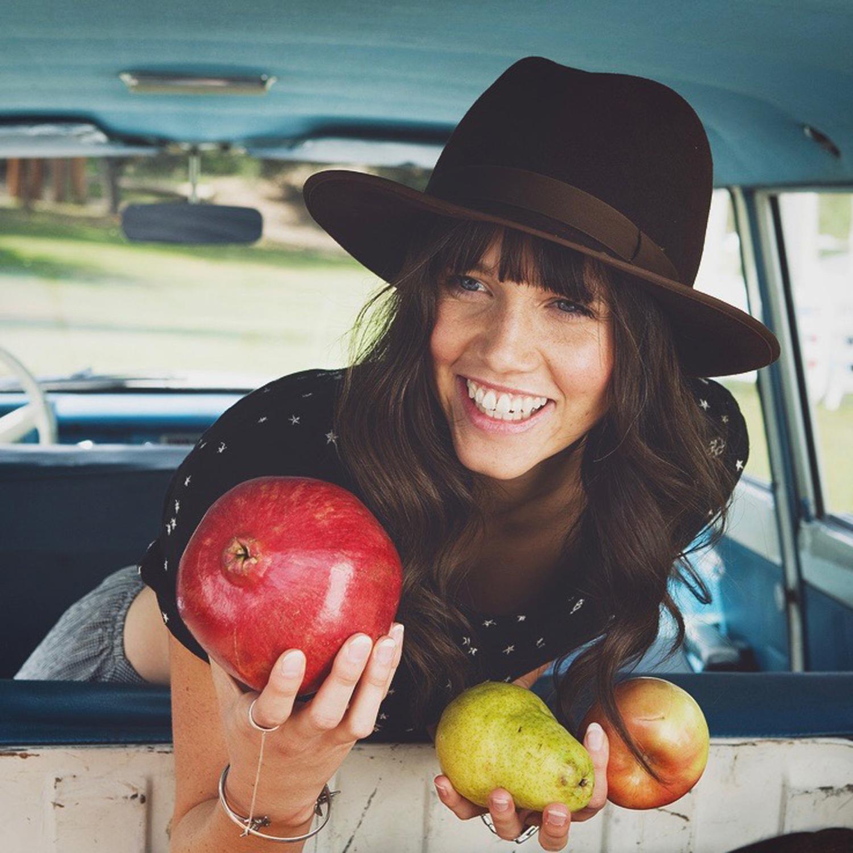pomegranite in the car.jpg