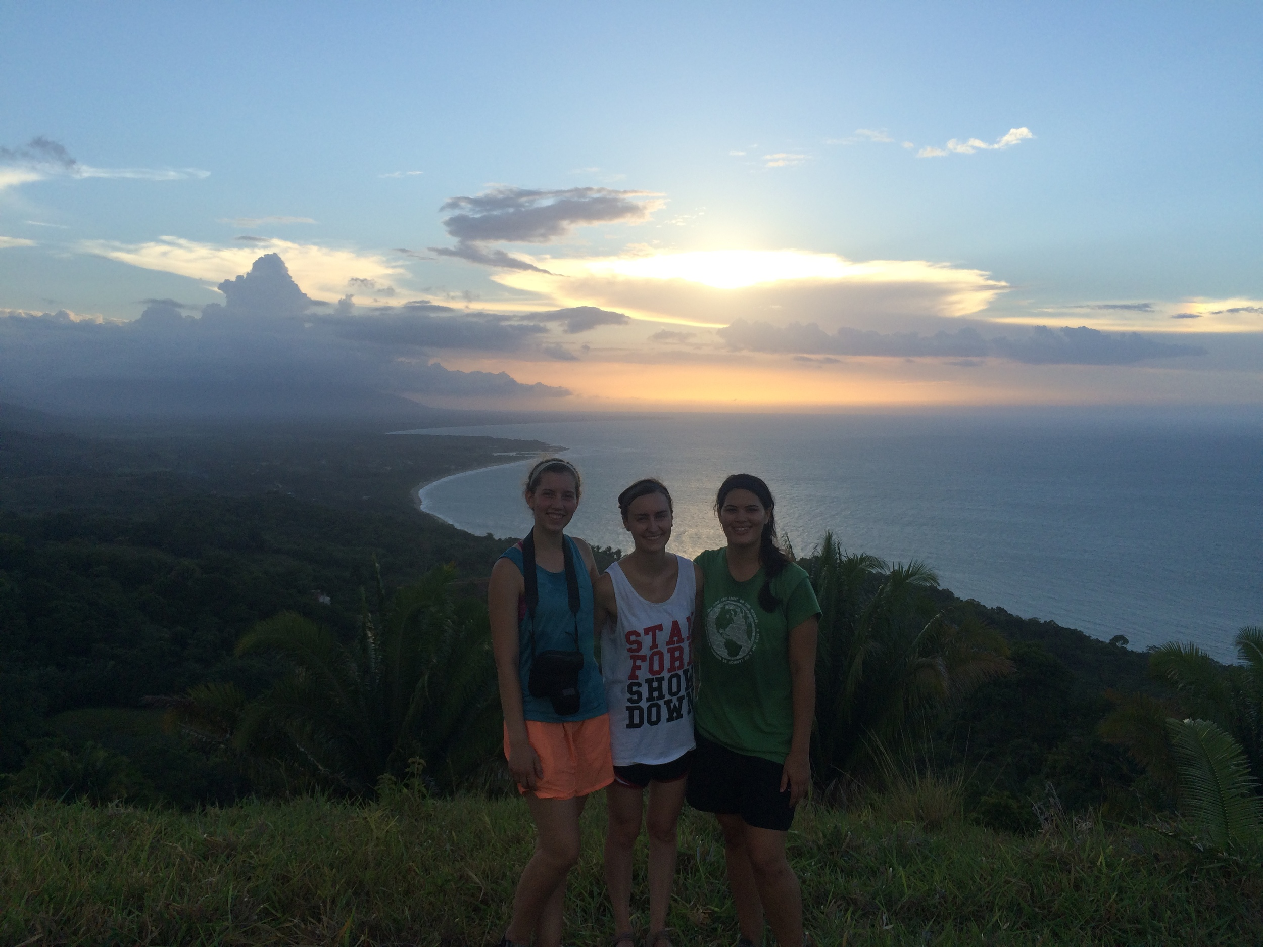 Beautiful hike with Lizzy and Leigh.