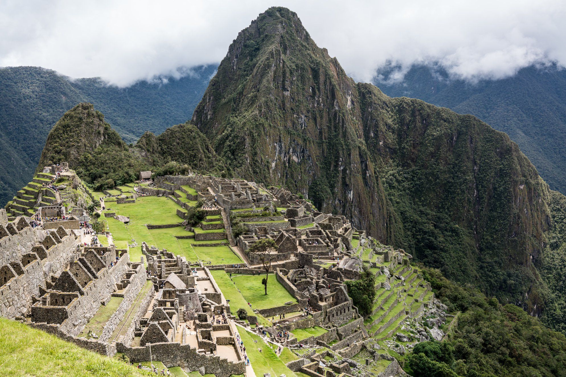 Machu Picchu in all of its glory. Photo Cred: Sakib Alam.