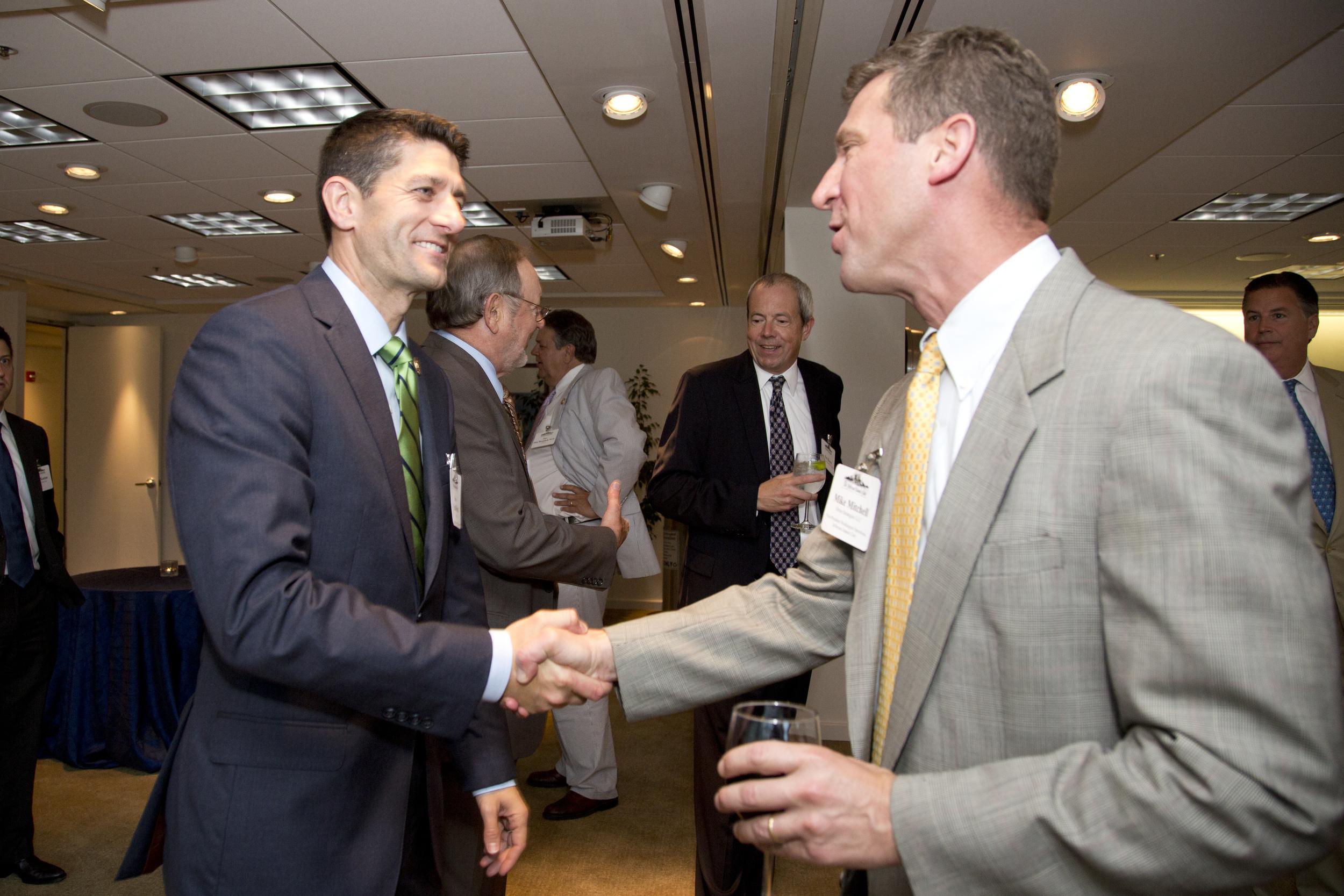Previous Citizen of the Year awardee Representative Paul Ryan.