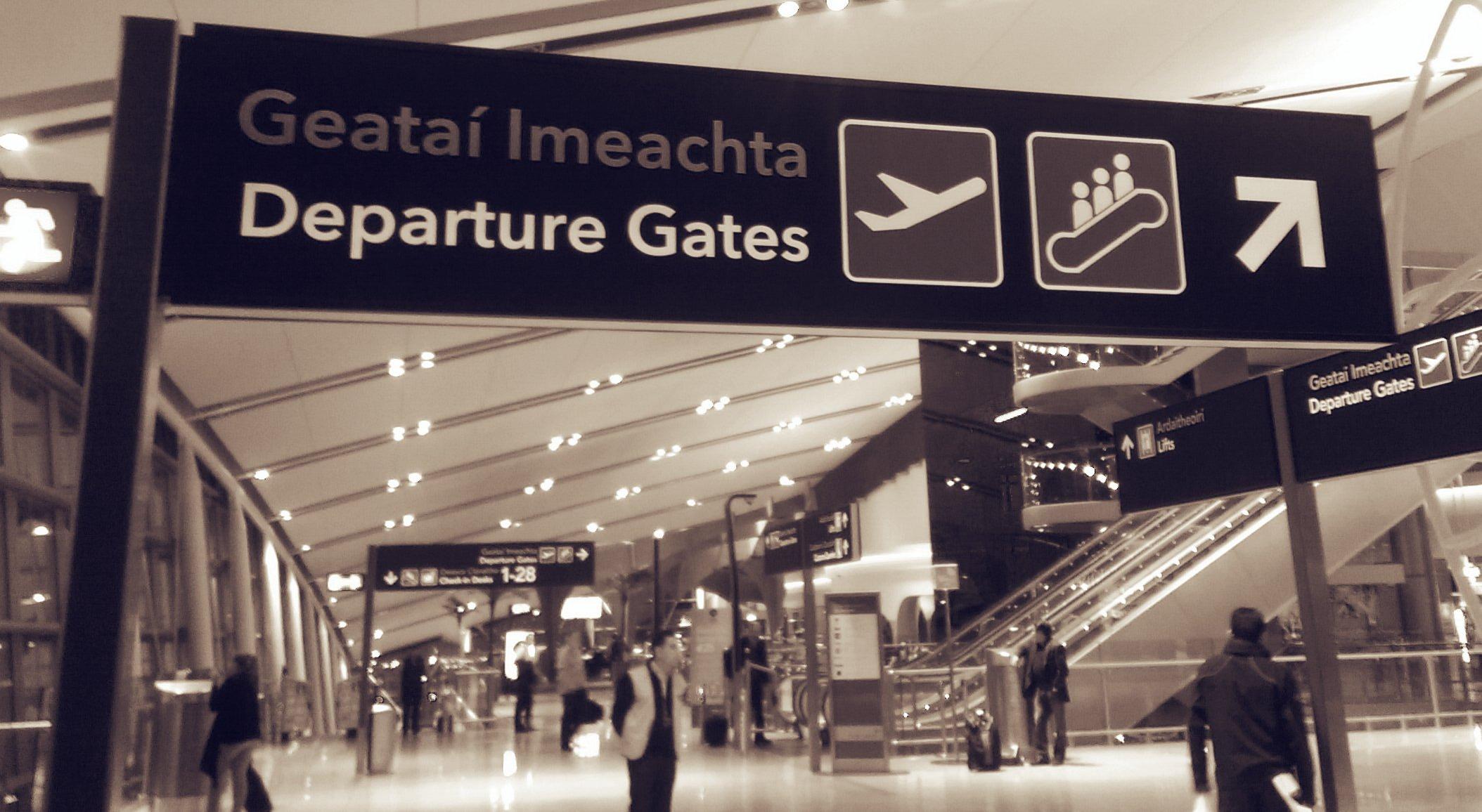 Manley @ Dublin Airport