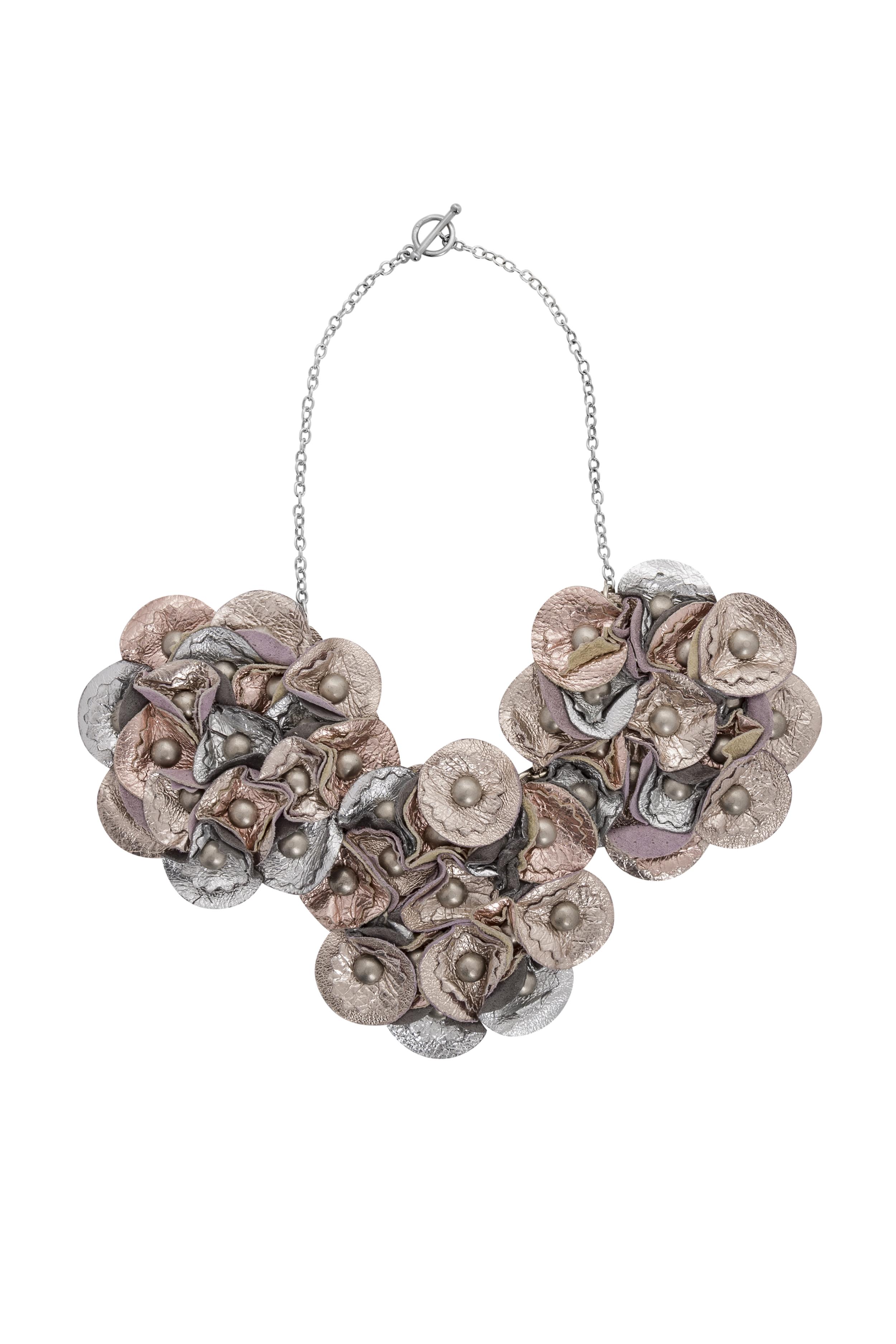 Sian Metallic Necklace /// Champagne