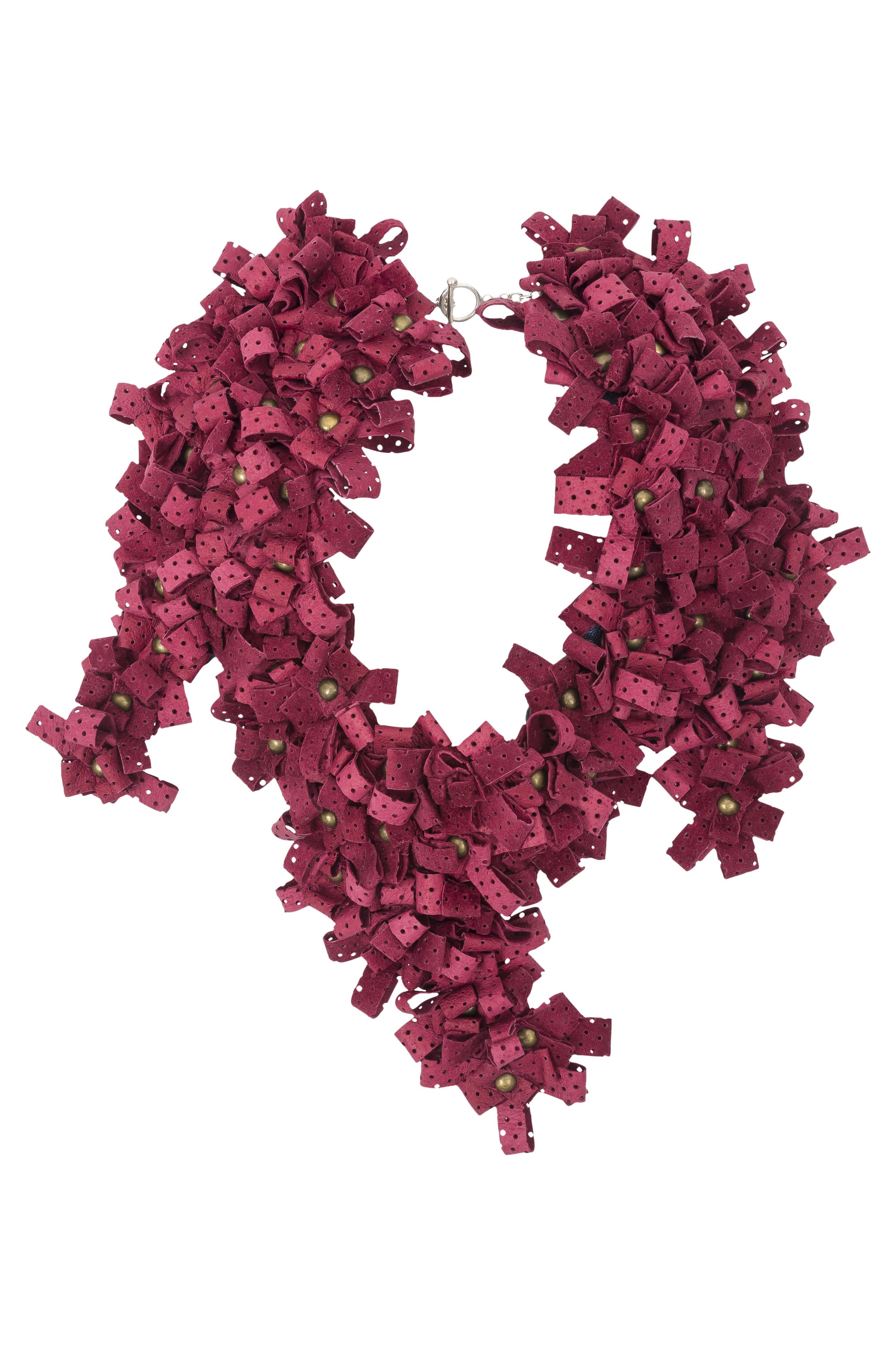 Maya Necklace /// Wine