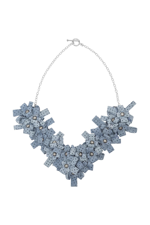 Lexi Necklace /// Powder Blue