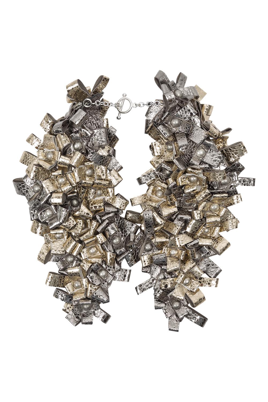 Carly Collar /// Silver & Gold