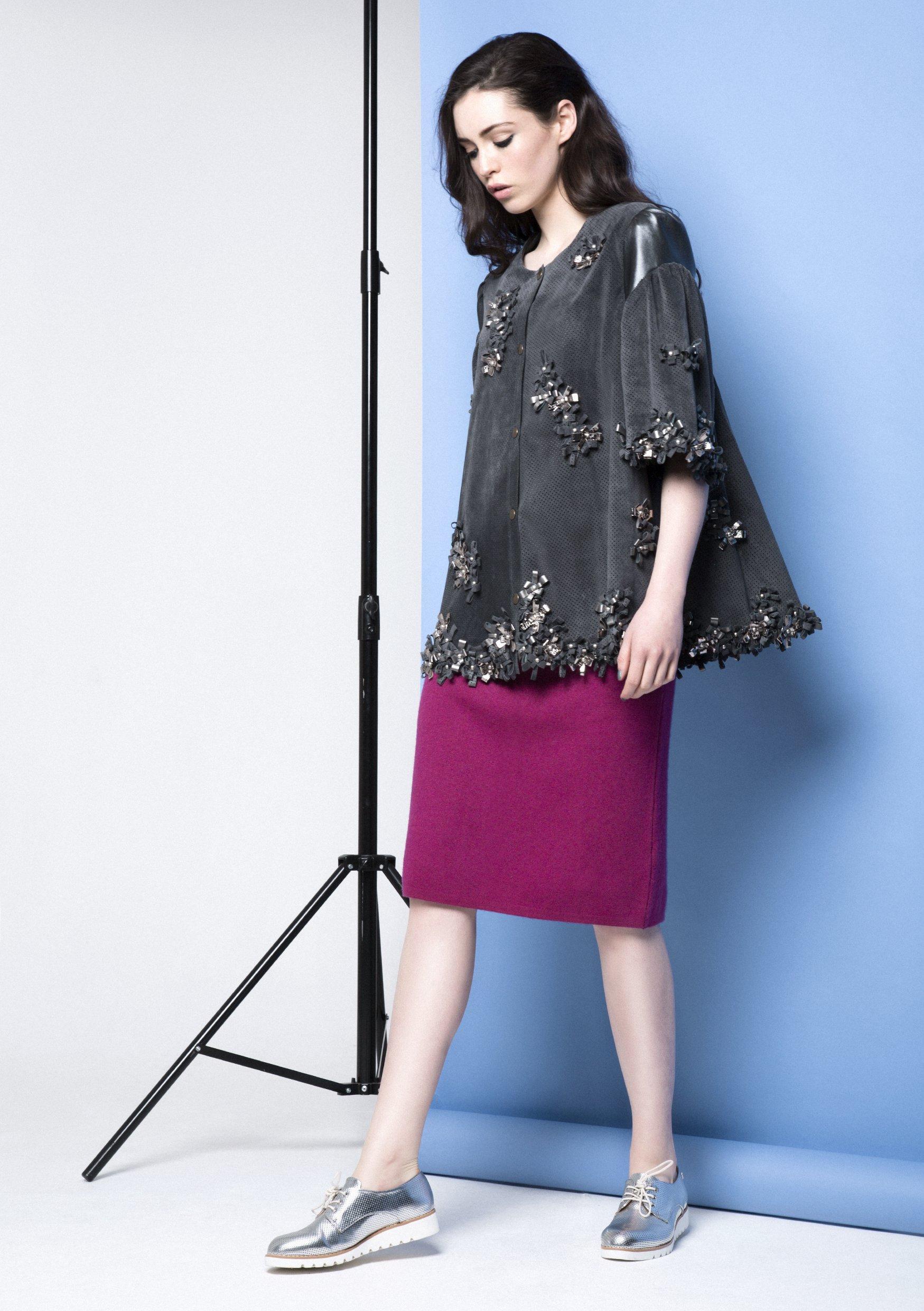 Manley AW15 Maya Bow Coat €594, Robin Skirt €175.jpg