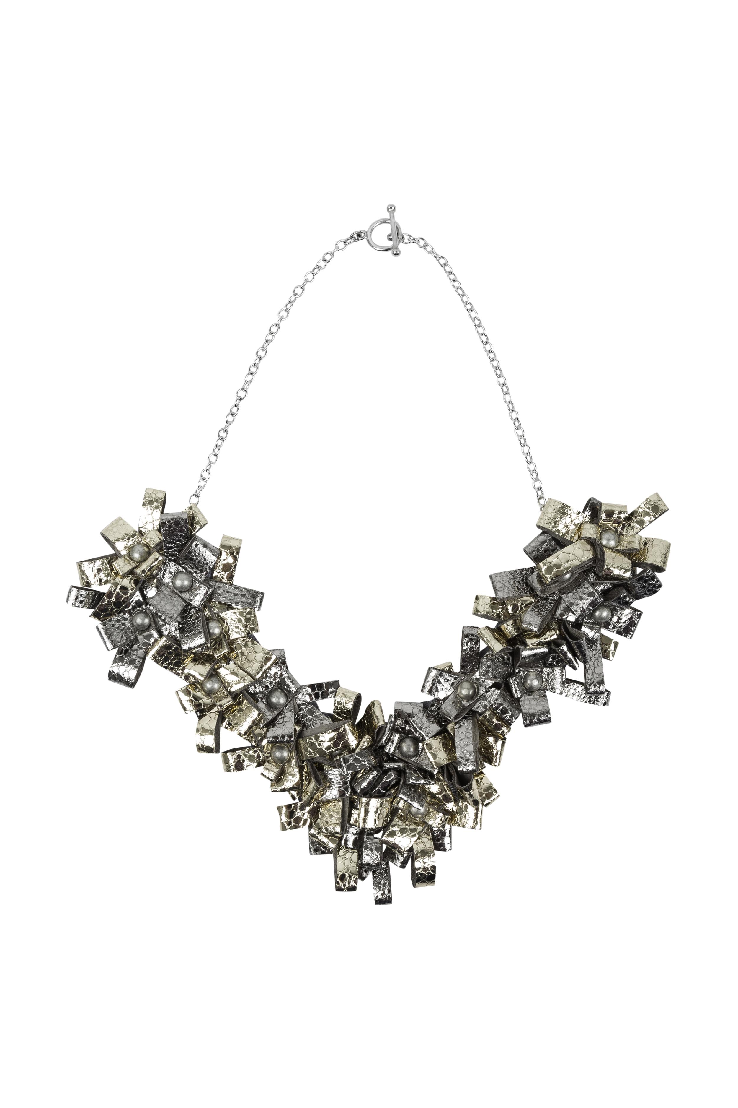 Cori Necklace /// Silver & Gold