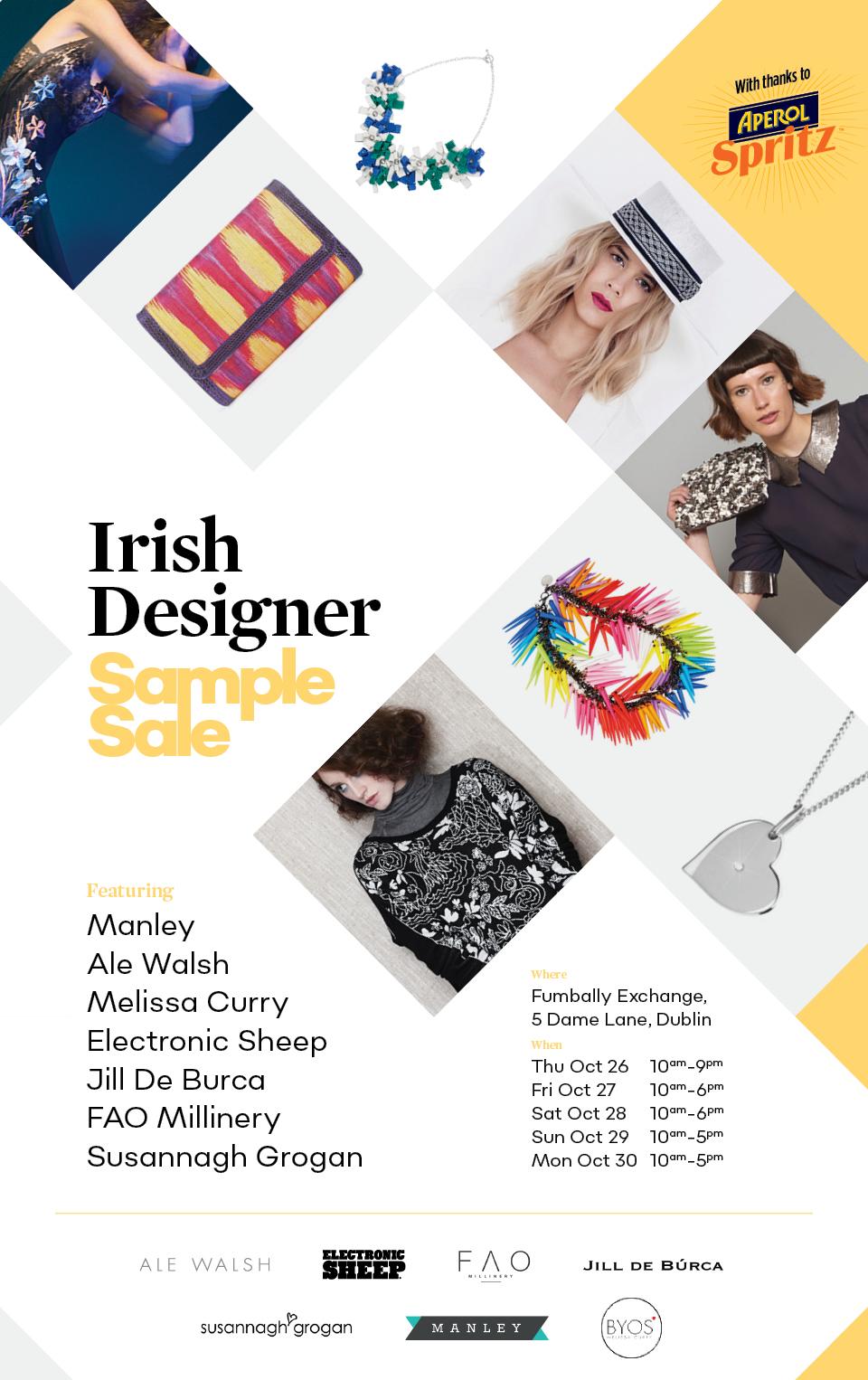 Irish Designer Sample Sale Dublin