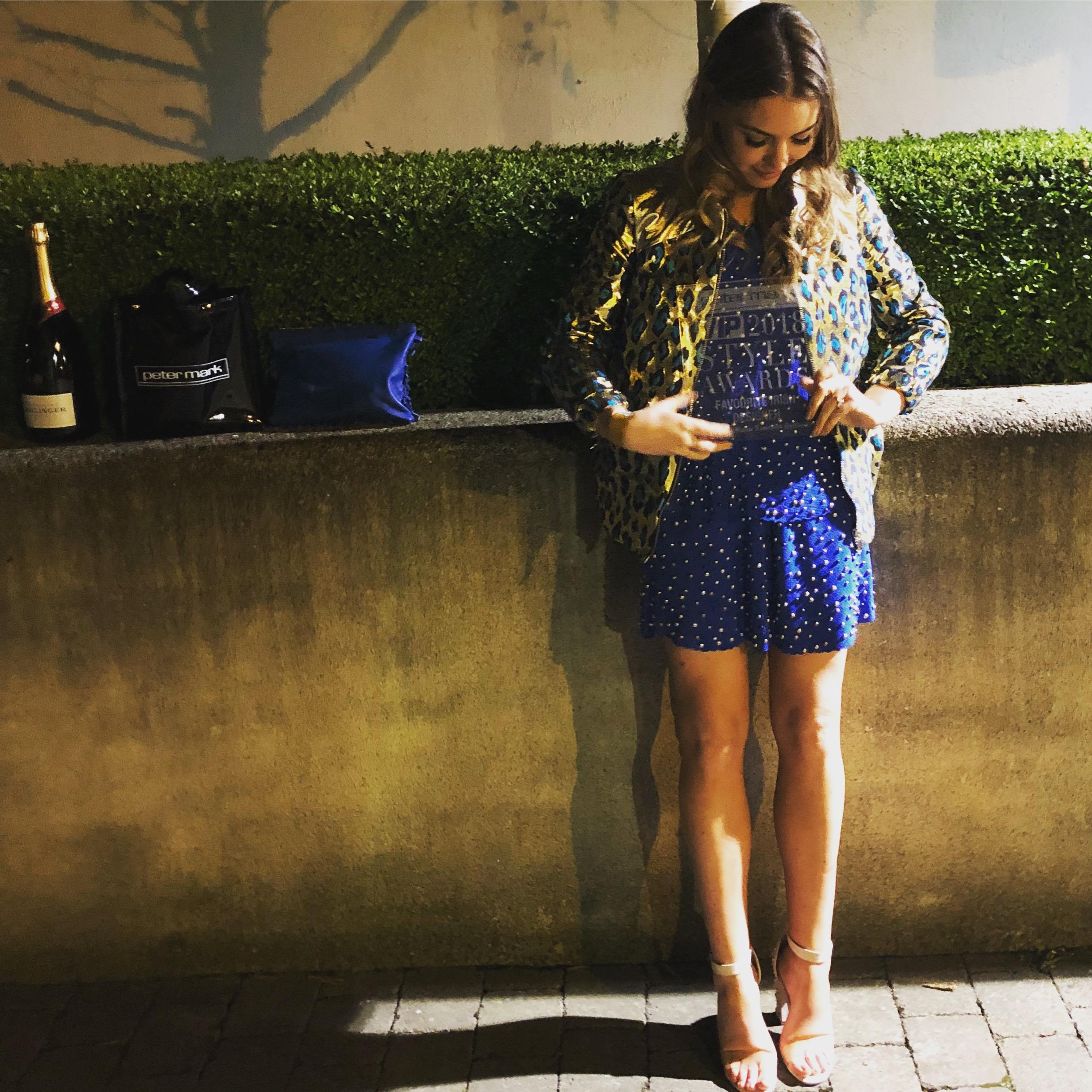 Emma Manley VIP Style Awards 2018