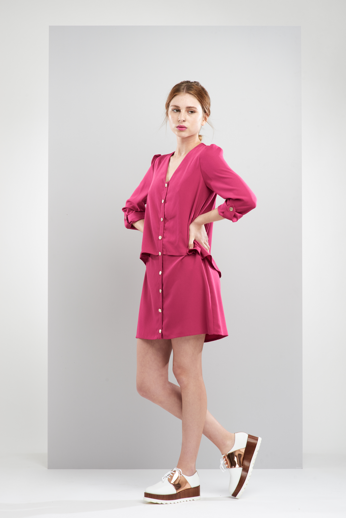 ManleyAW17 - Layla Dress - Magenta €275 LR.jpg
