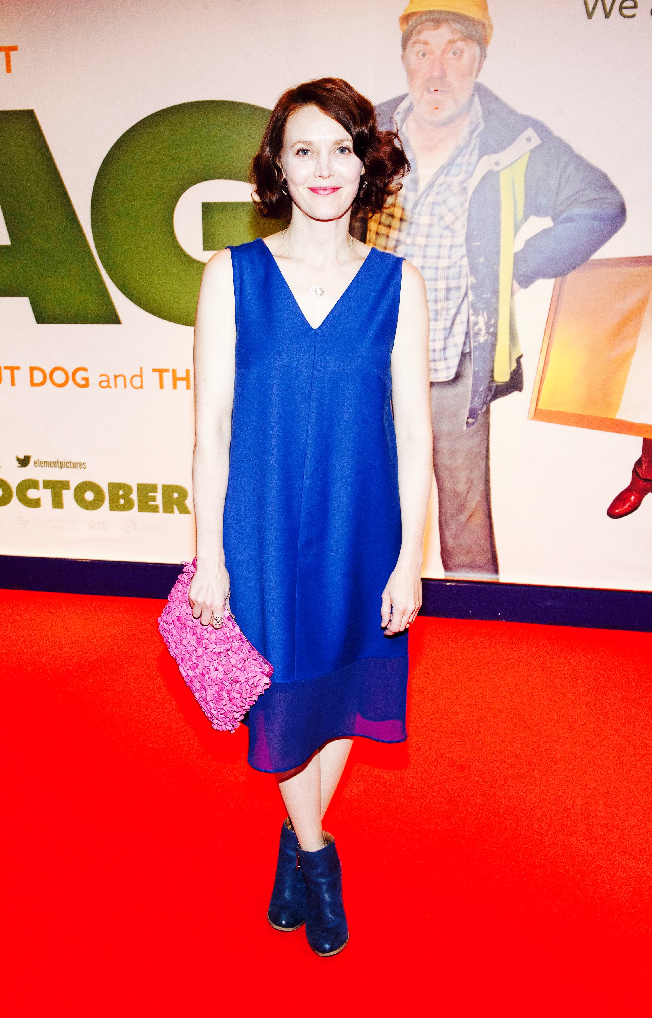Simone Kirby at the premier of THE FLAG at cineworld