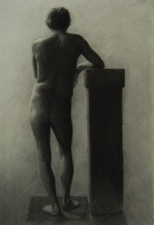 Giovanni, Charcoal on Paper, 2011.