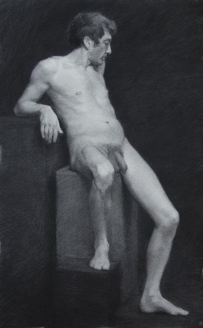 Giovanni, Charcoal, 2012.
