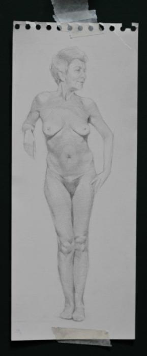 """Maria Virginia"" Pencil on Paper, 2013"