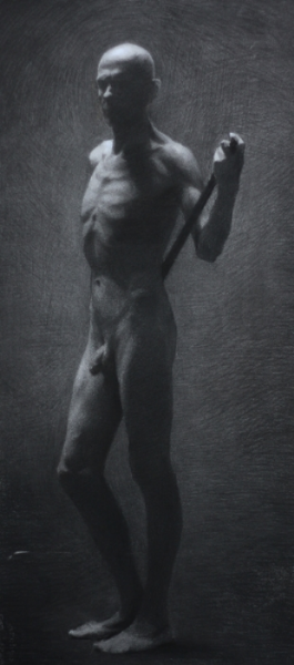 Stefano, Charcoal, 2012