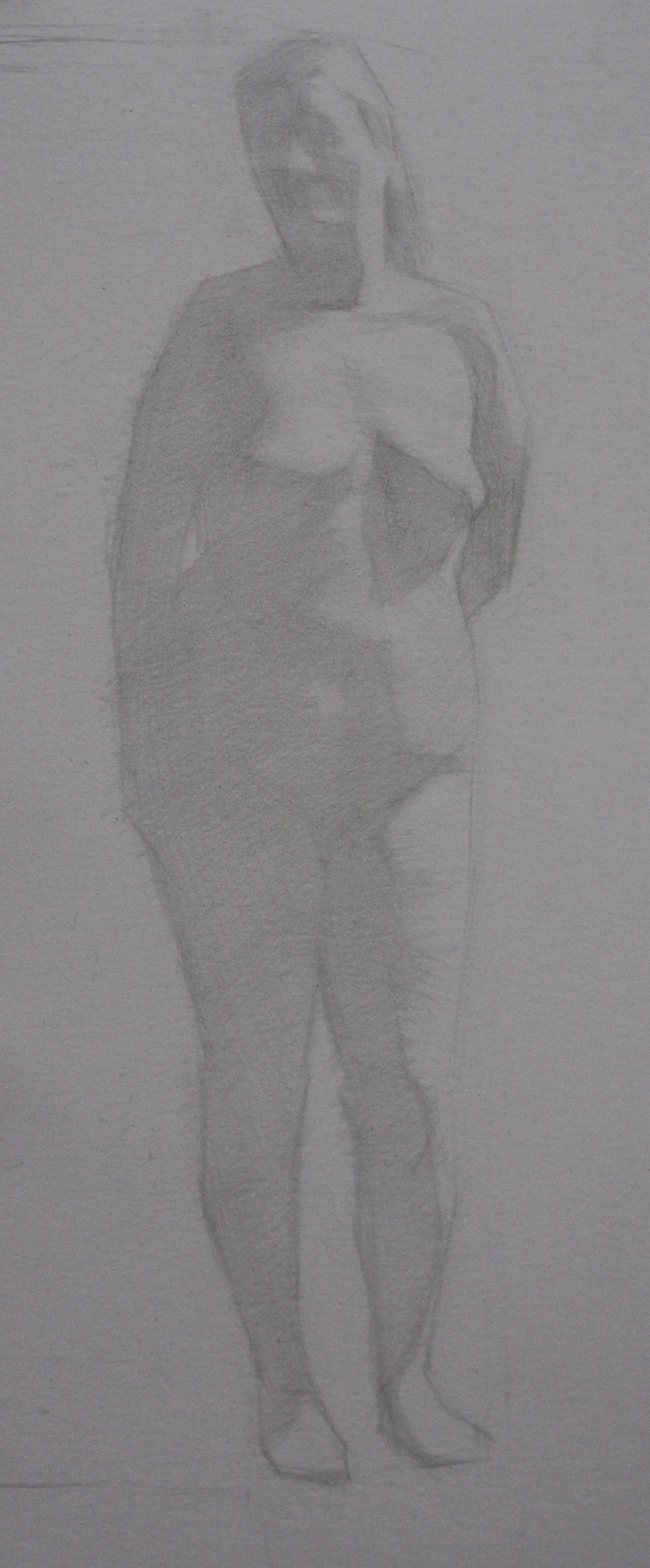 giulia, pencil on paper, 2013