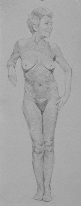 maria virginia, Pencil Study, 2013