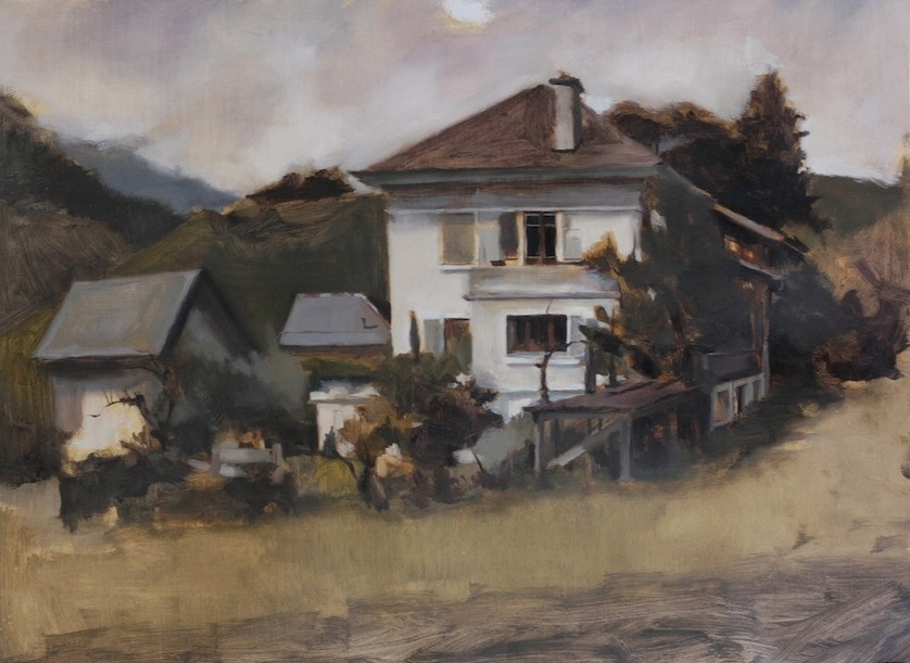 The Old House, Oil on Canvas, 2013.