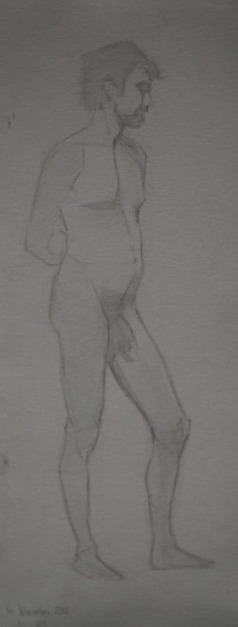 roberto, pencil study, 2013